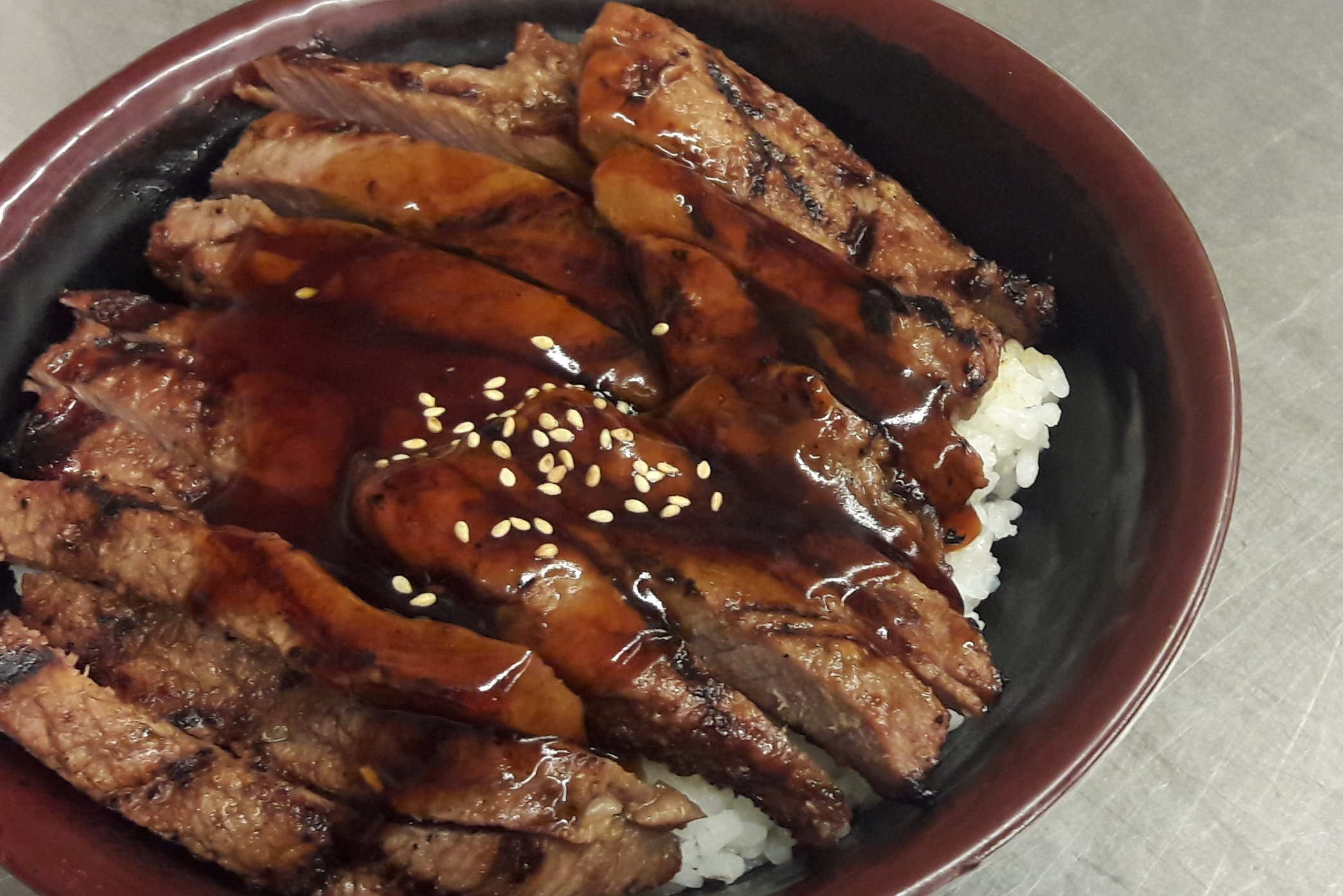 Beef Teriyaki Bowl -