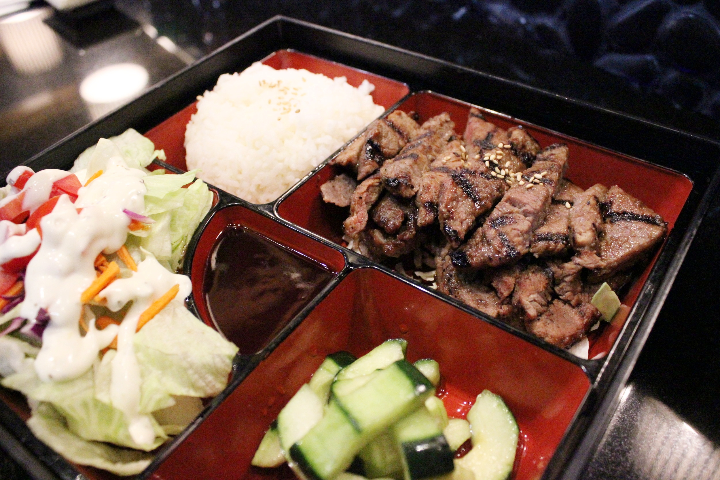 Beef Teriyaki with Rice - Kids Meal