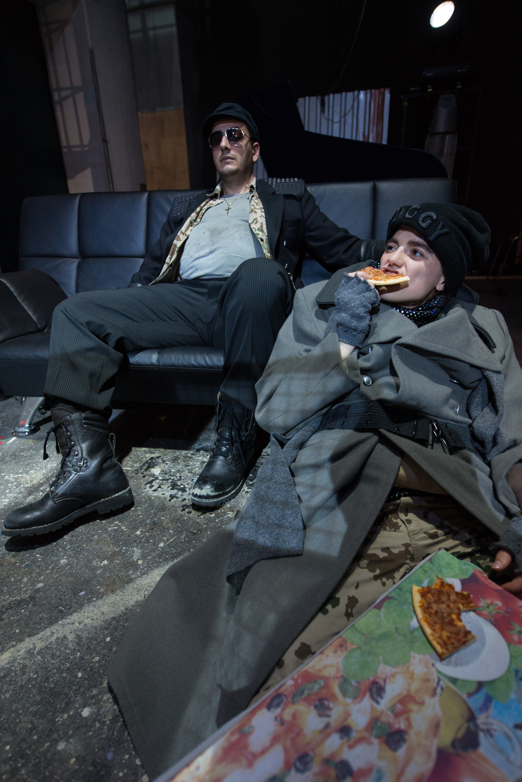 Iro  (Ulisse)   Theaterakademie August Everding, München 2016  mit Irakli Atanelishvili  Foto Jean-Marc Turmes
