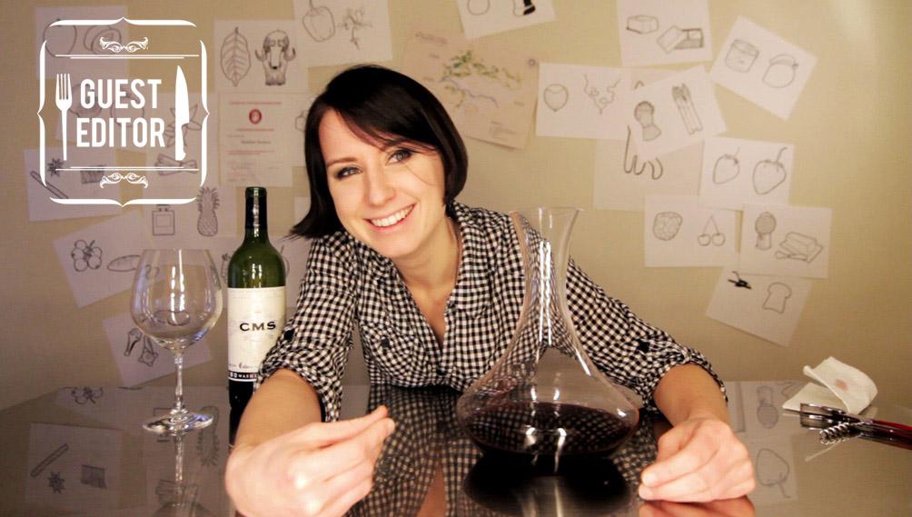 madeline-decanting-wine copy