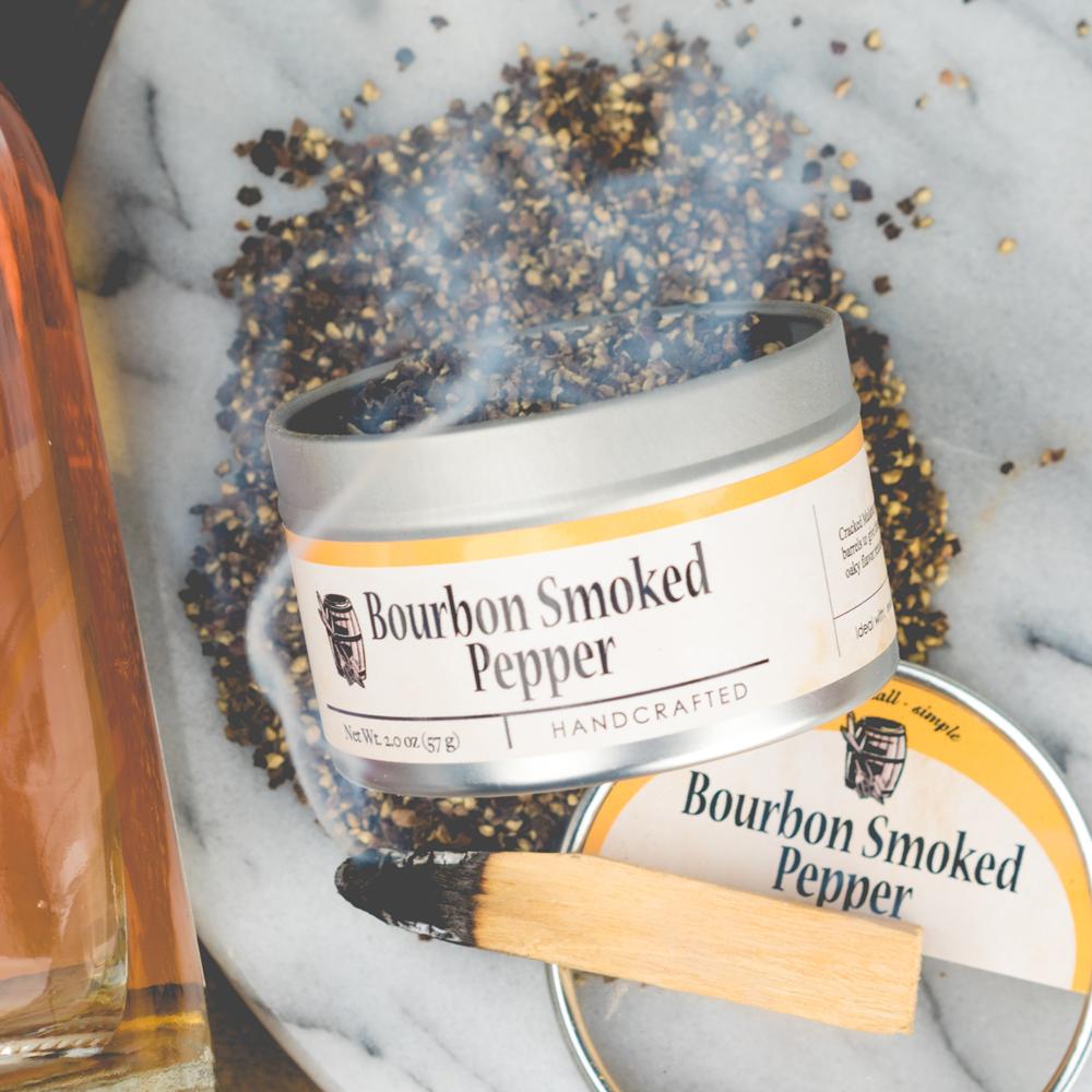 Bourbon Barrel Foods   Bourbon Smoked Pepper