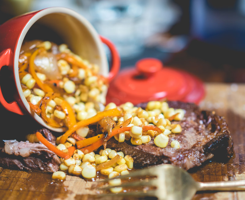 Recipe | Filet with Datil Pepper Table Sauce