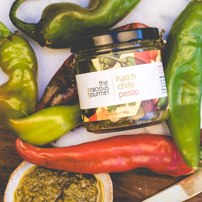 The Gracious Gourmet | Hatch Chile Pesto