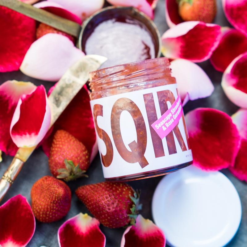 SQIRL | Strawberry Rose Jam