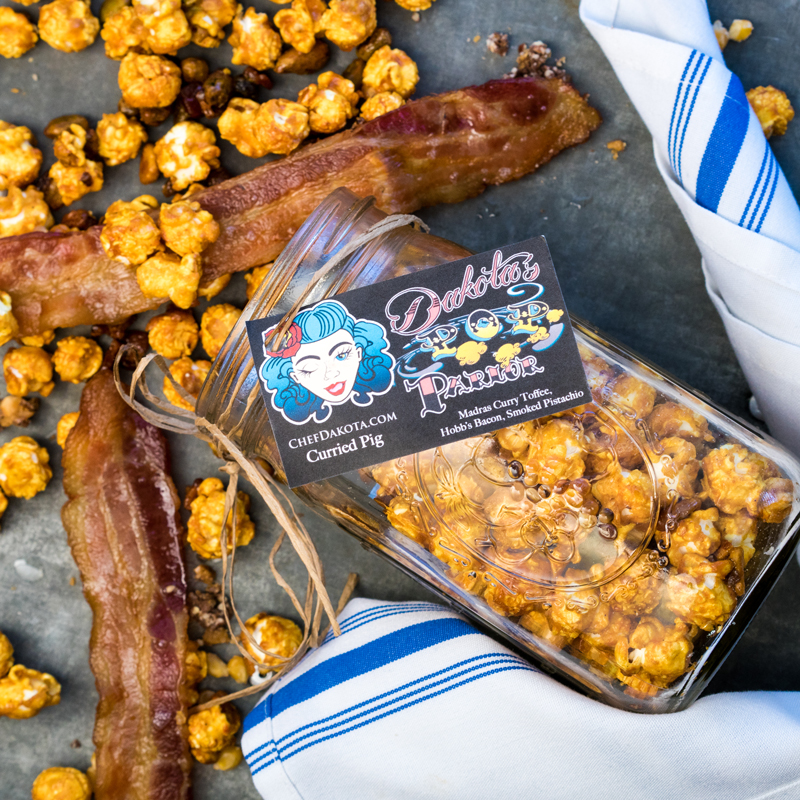 Dakota Pop | Curried Pig Popcorn