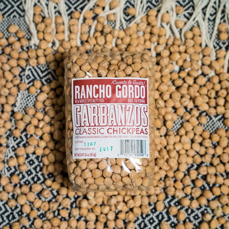 Rancho Gordo Garbanzo Beans