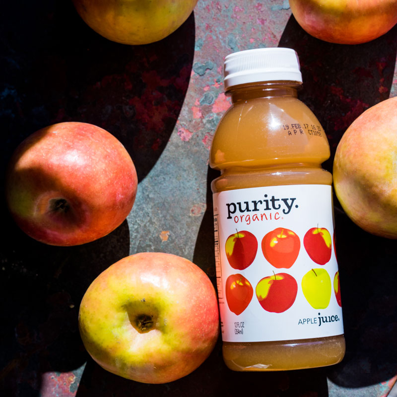 Purity Organic | Apply Juice