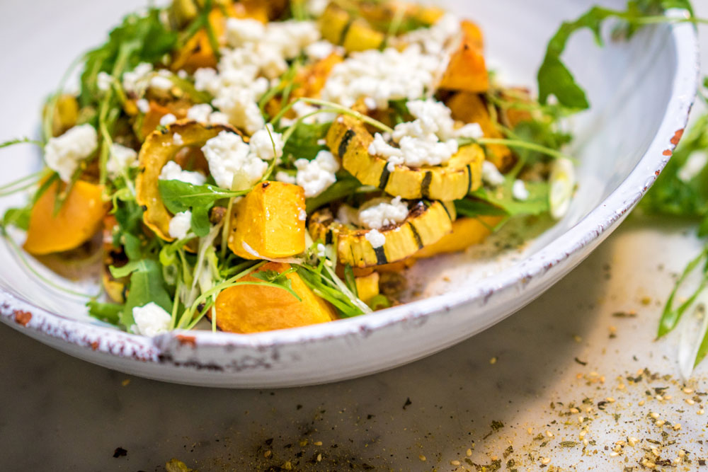 Roasted Winter Squash | Toasted Pistachio | Feta | Dukkah