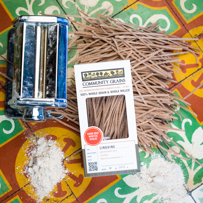 Community Grains | Hard Red Winter Wheat Linguine