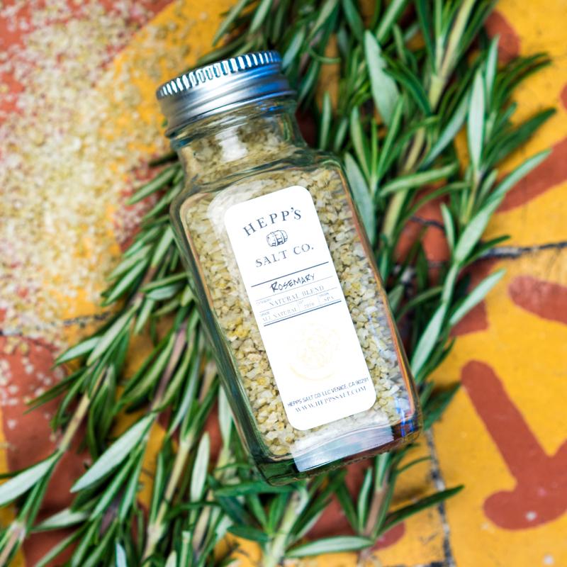 Hepp's Salt Co. | Rosemary Sea Salt