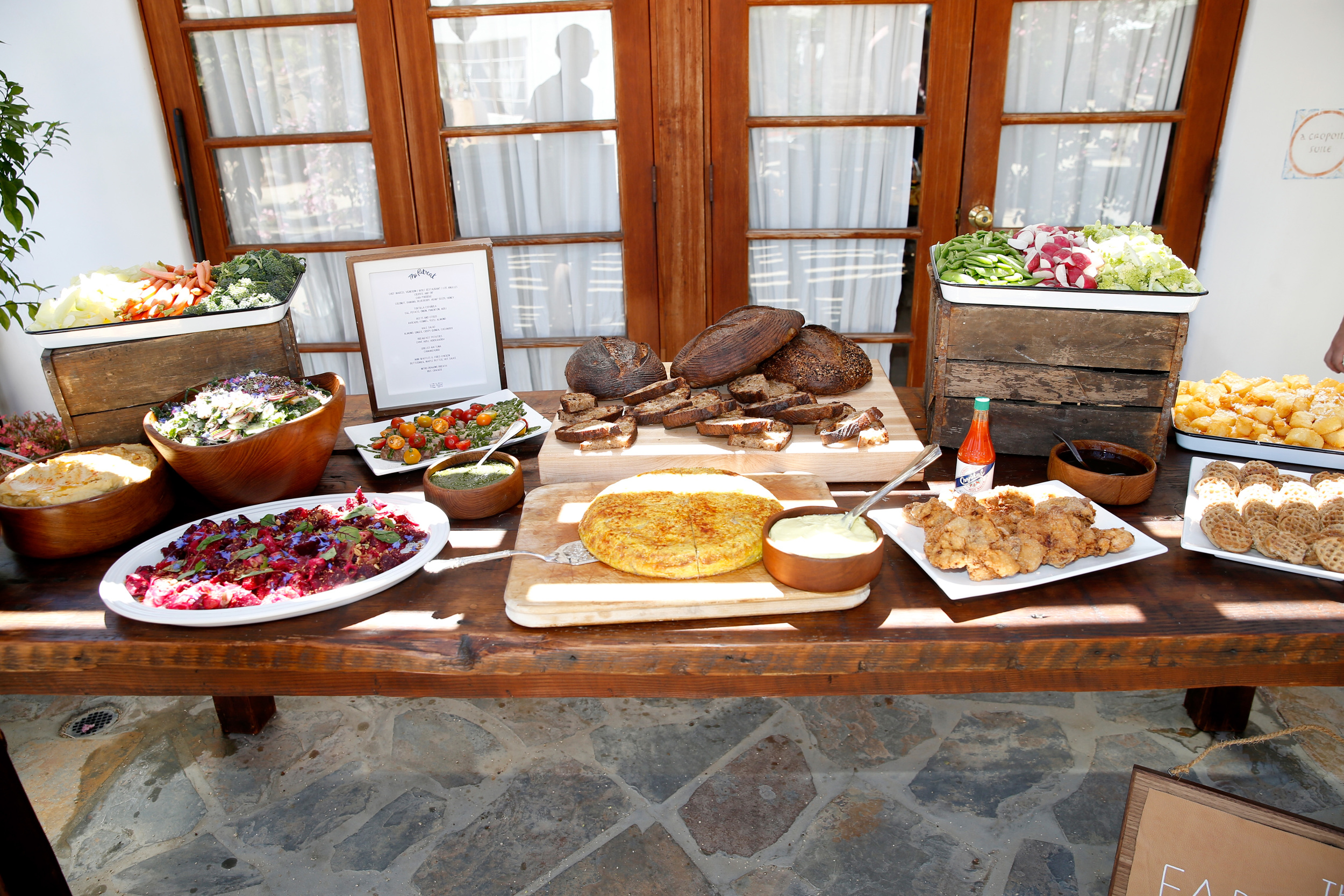 Marcel's Brunch Spread |(Photo by Jonathan Leibson/Getty Images)