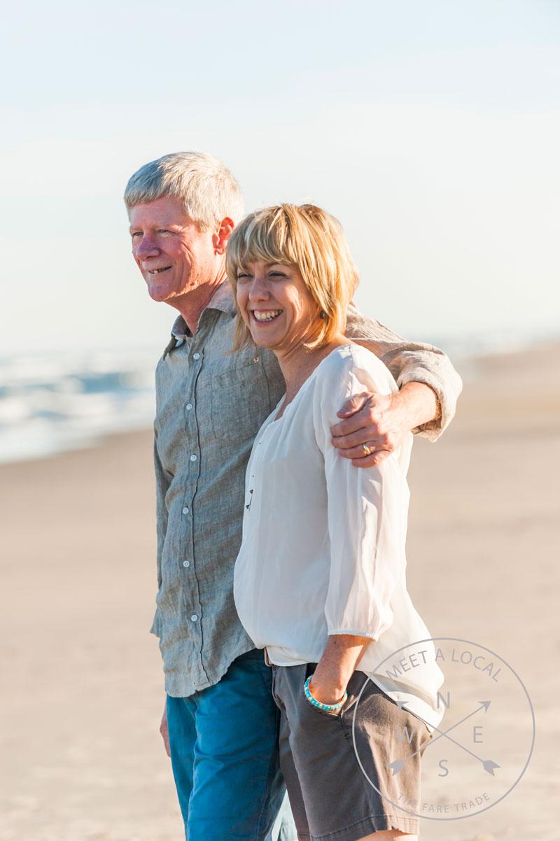 Amy Gaw and John Gaw