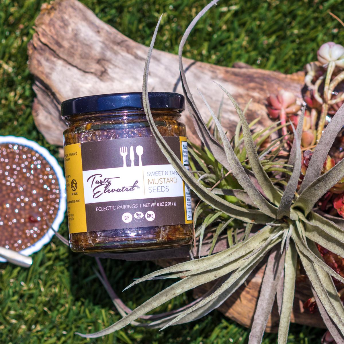 Taste Elevated Sweet'n'Tangy Mustard Seeds