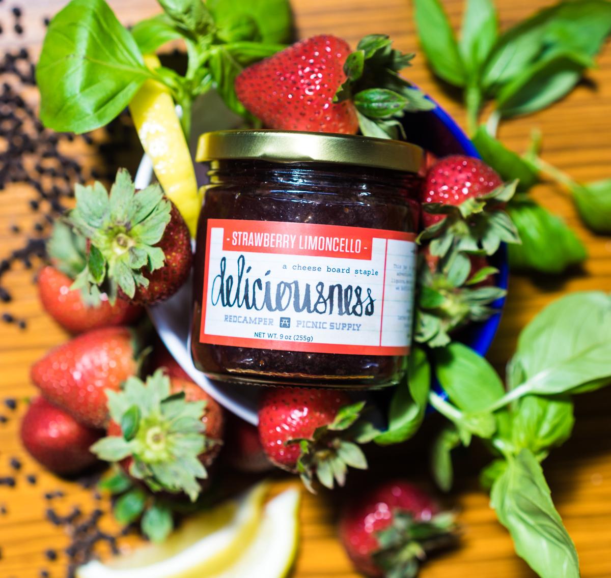 Strawberry Limoncello Deliciousness