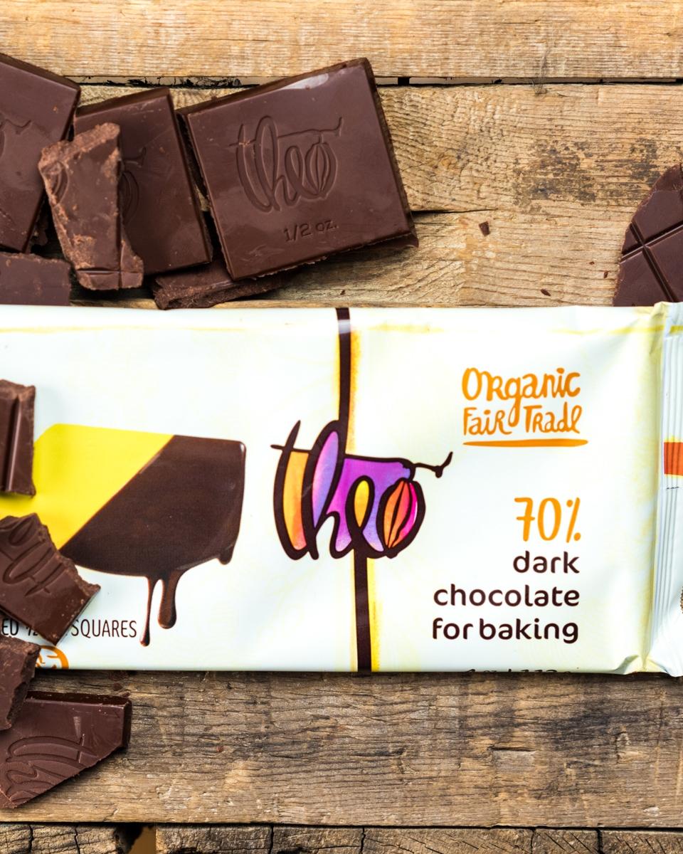 Bonus! Theo's 70% Chocolate Baking Bar
