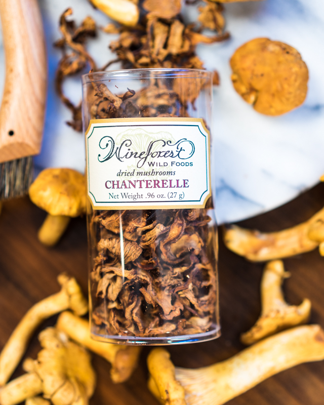 Wine Forest Wild Foods Dried Chanterelles