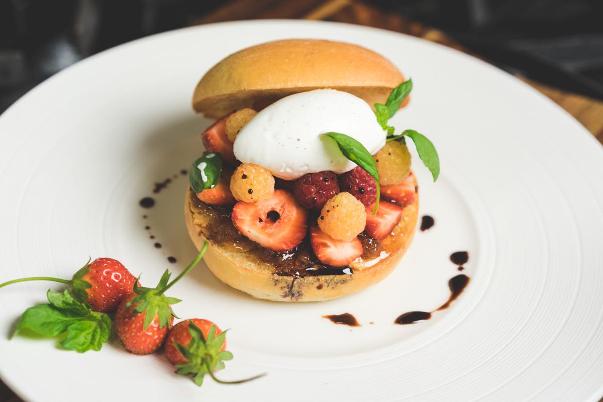 Peanut Butter | Golden Raspberry Jam | Brioche | Aged Balsamic