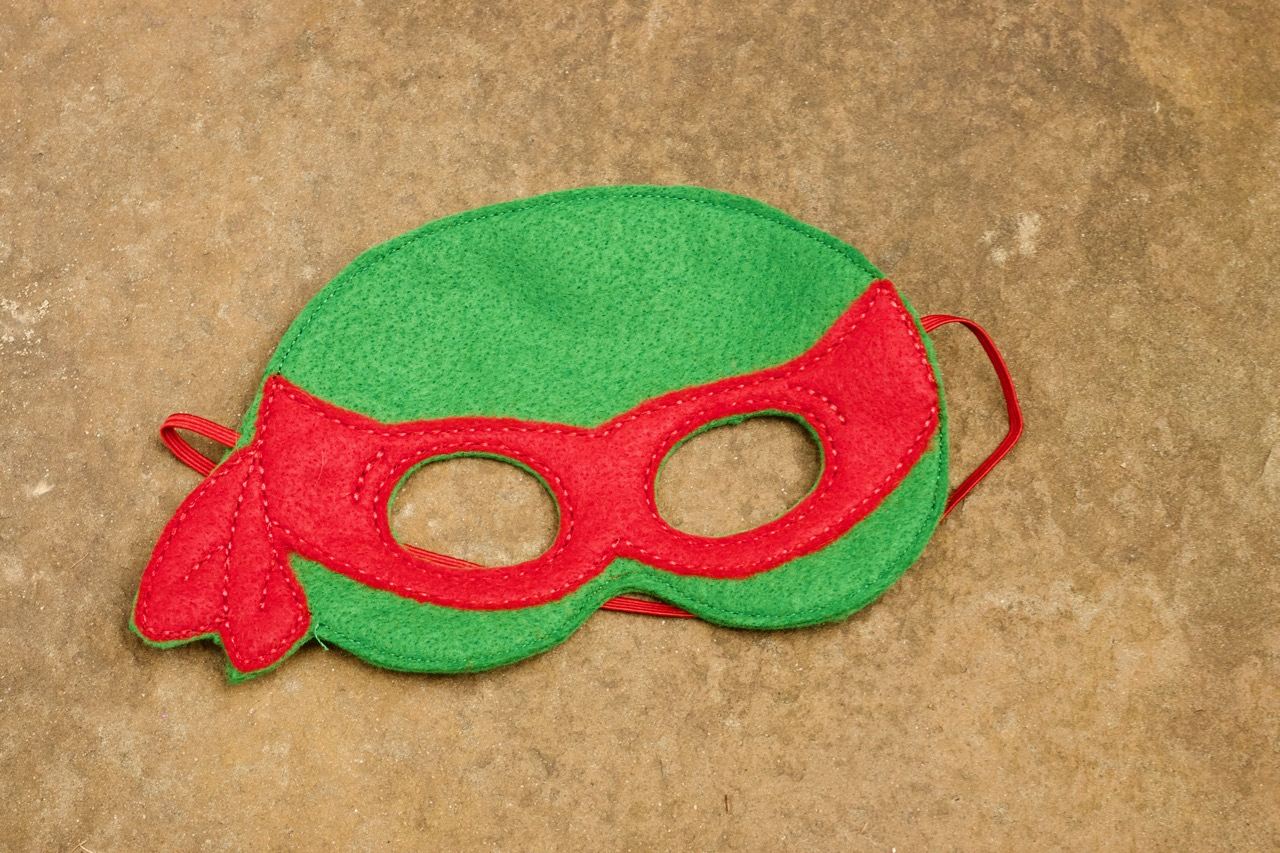 Red Turtle Mask