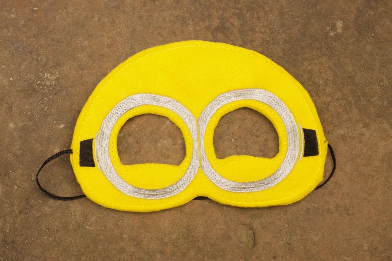 Minion Mask Two Eye