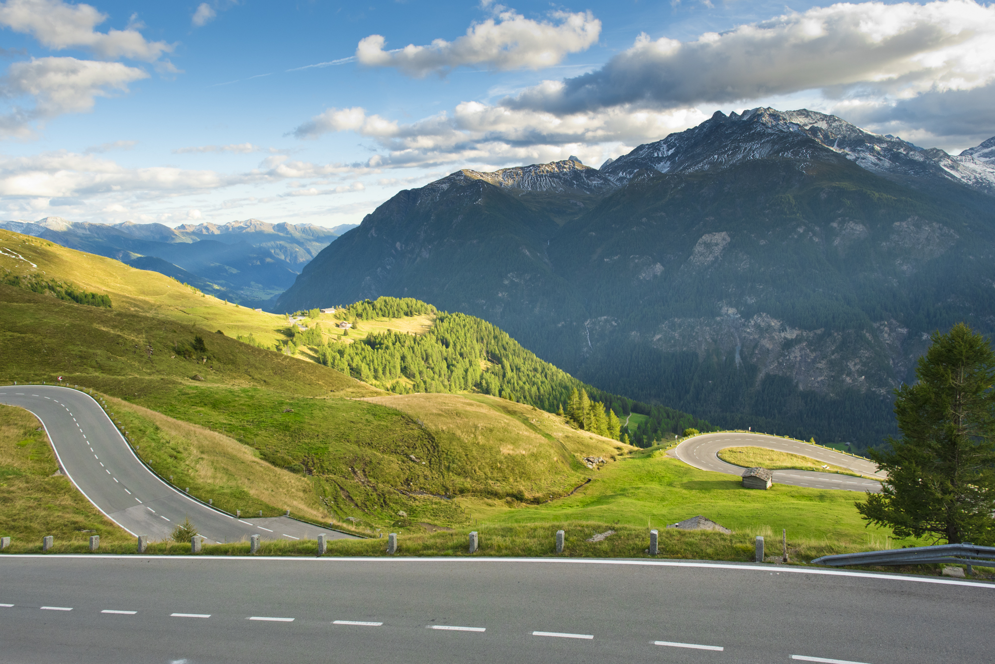 Driving up the Grossglockner