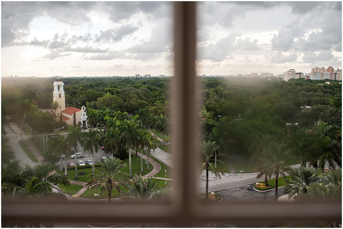 view of Church of the Little flower from The Biltmore Hotel