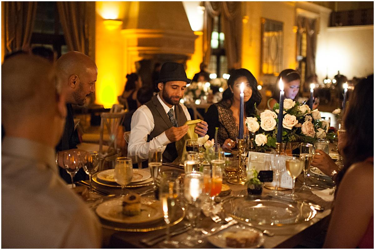 wedding reception at the biltmore hotel