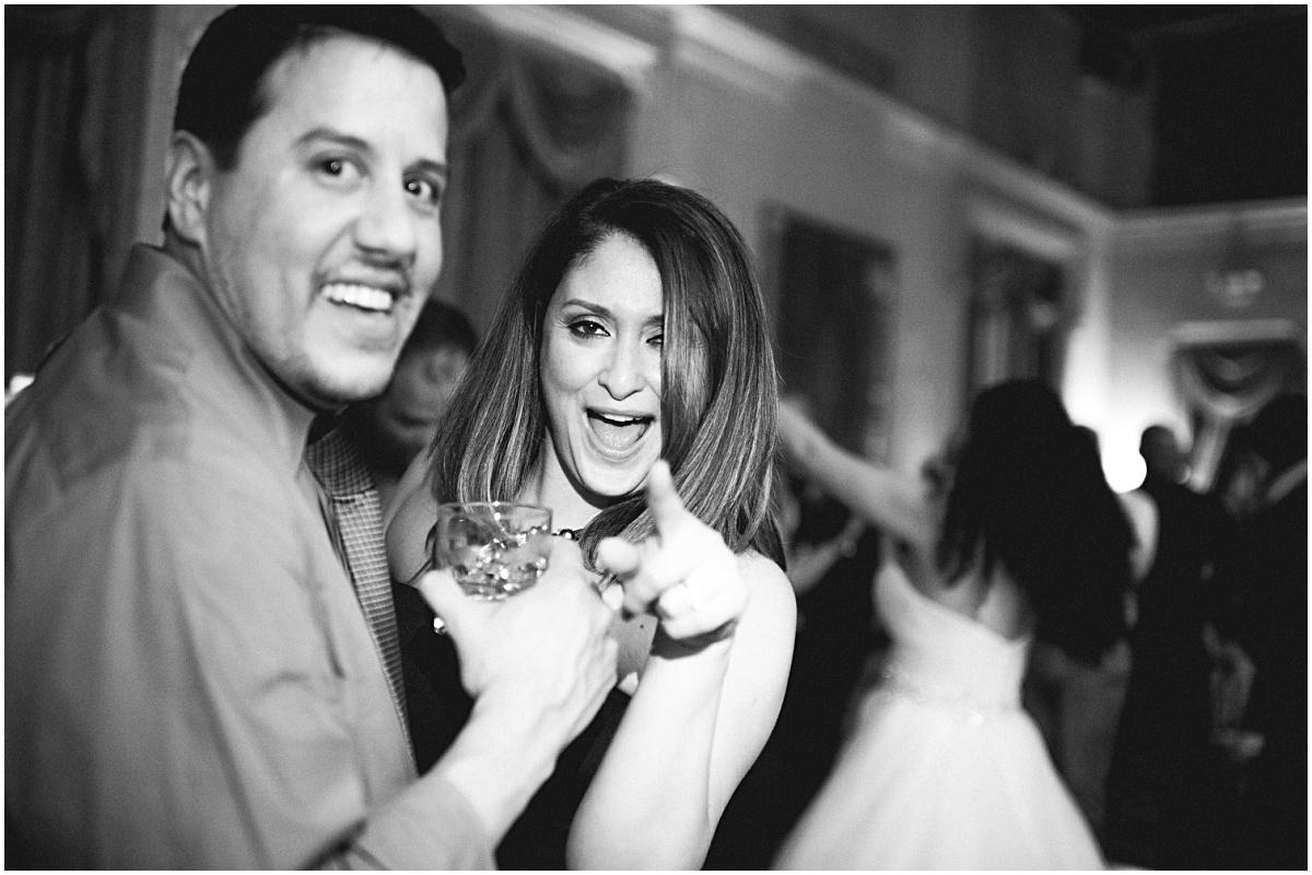 fun biltmore hotel wedding reception dancing