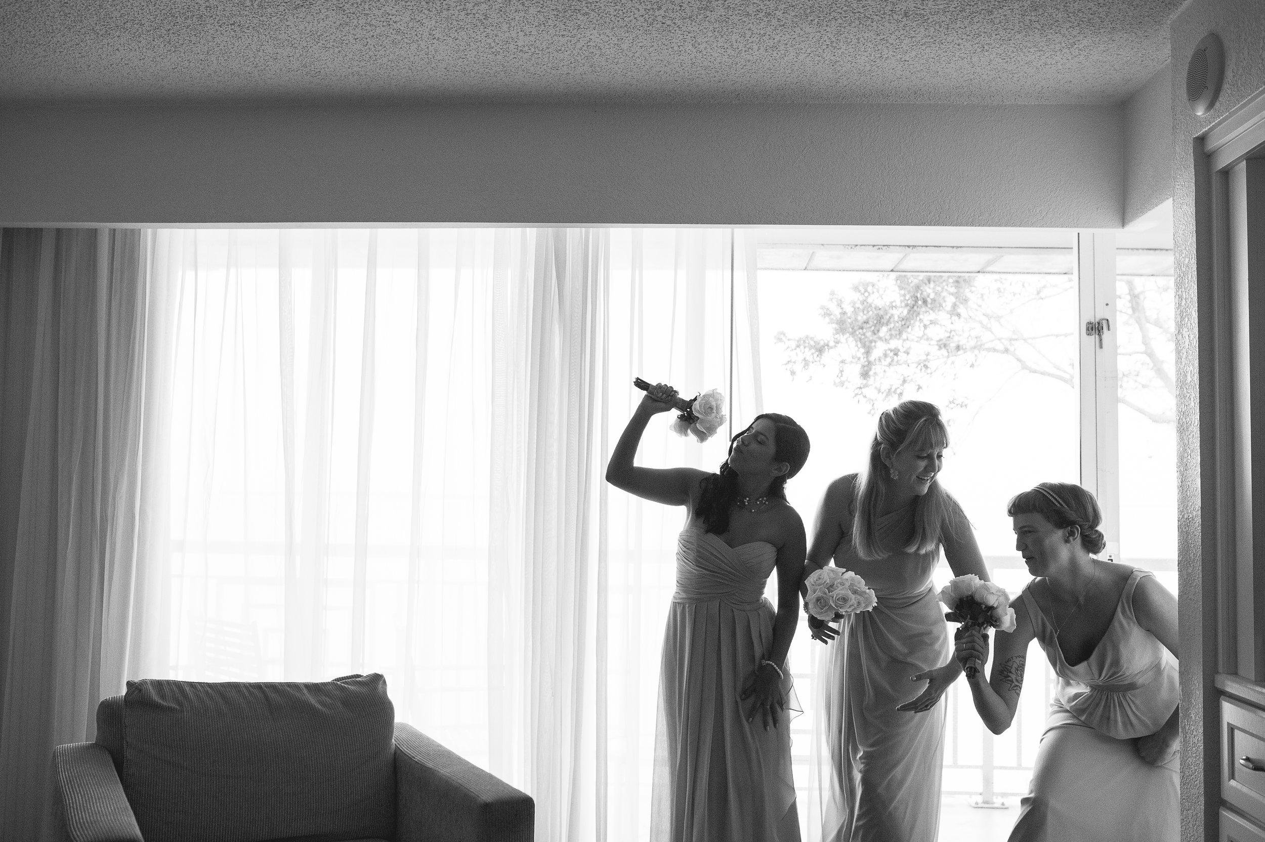 south-florida-key-largo-hilton-bridesmaid-wedding-photographer