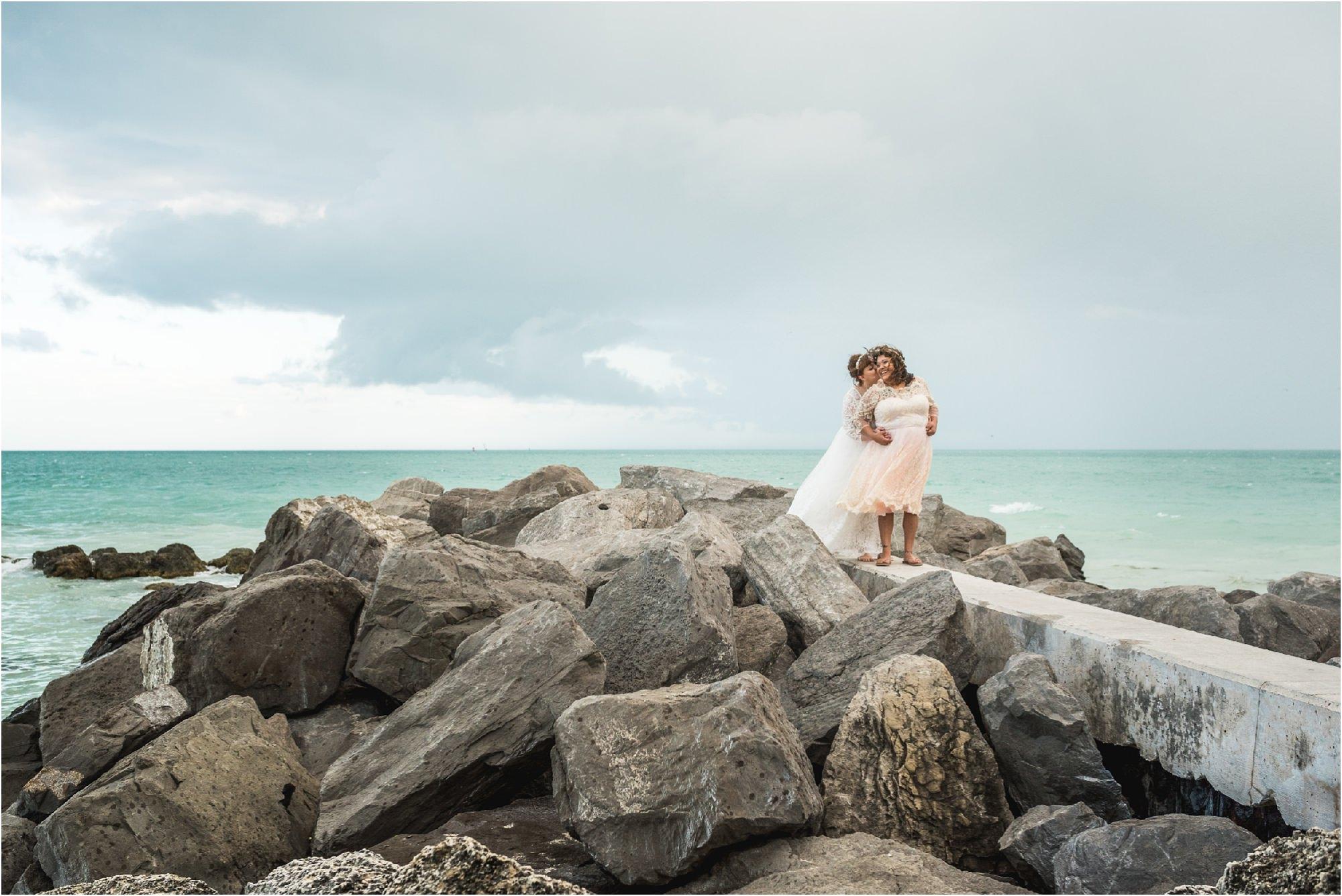 Fort Zachary Taylor-key west- florida- wedding-lesbian-beach