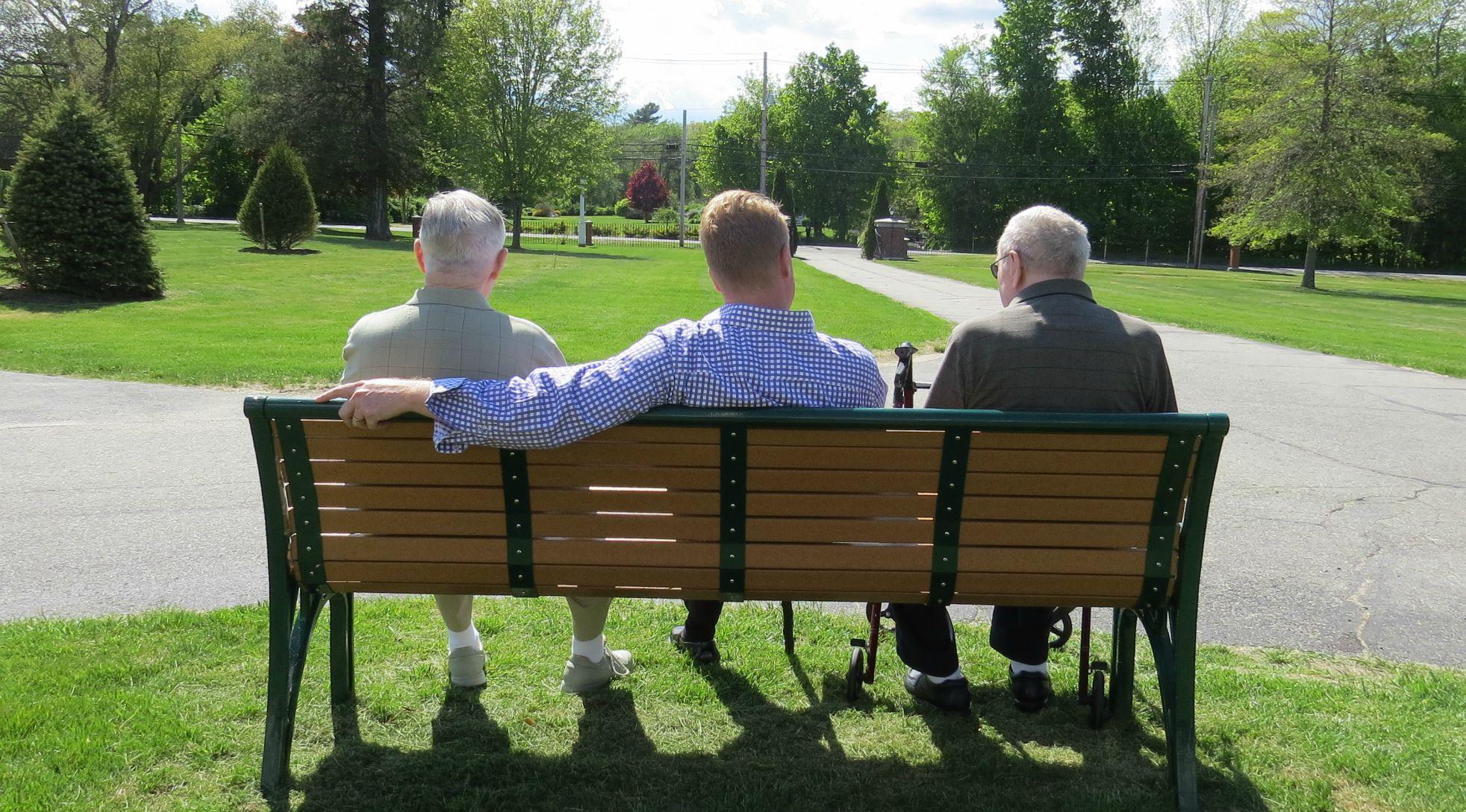 BeFunky_Clem Leary, Earl McAllister, and JohnKeeley sitting outside.jpg.jpg