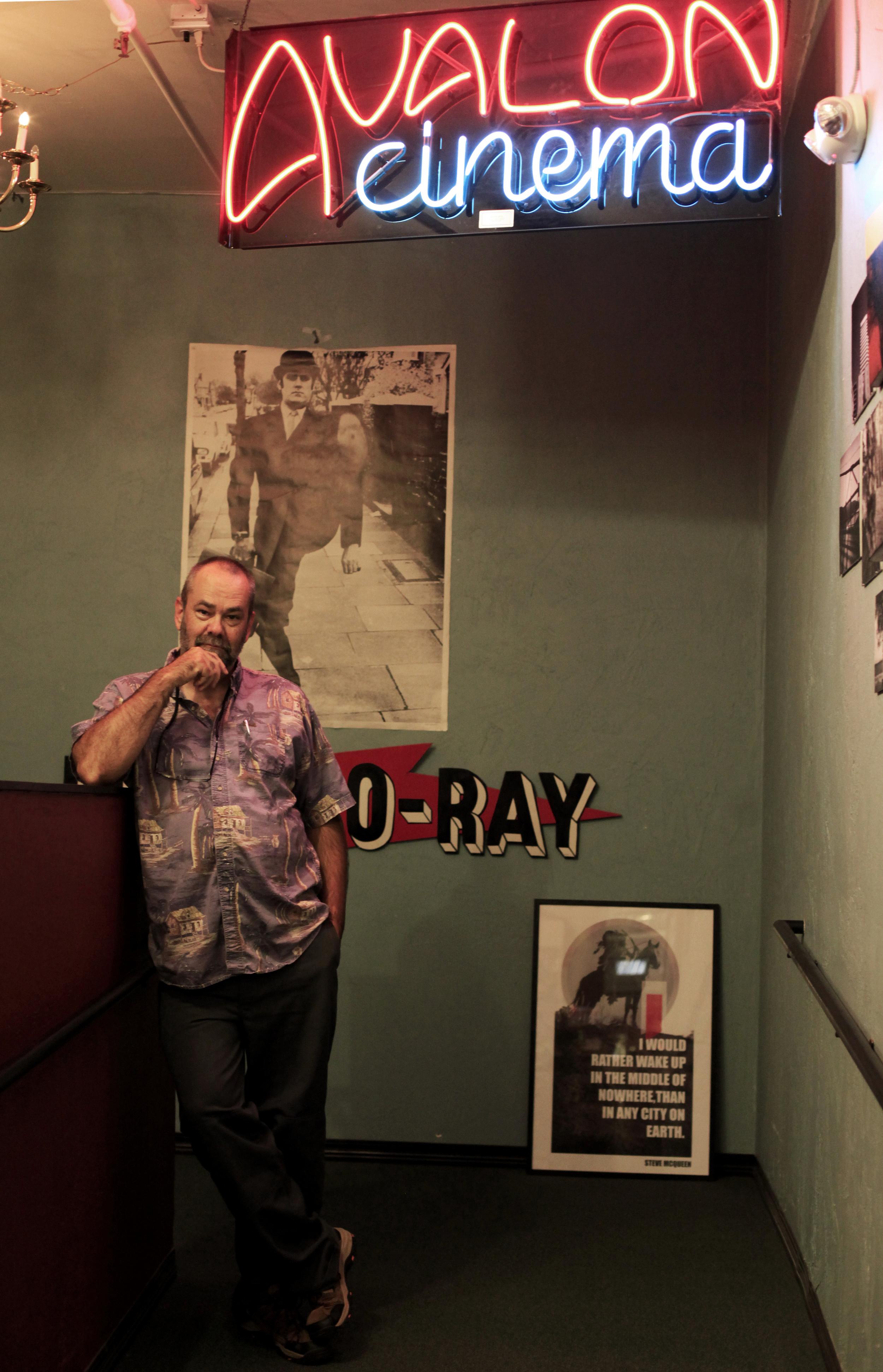 Darkside Cinema proprietor Paul Turner