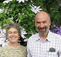 Norm Jacobs with wife Deb Zaveson