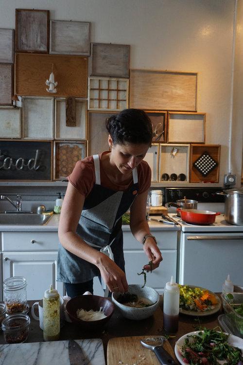Kristen rasmussen de vasquez of rooted food