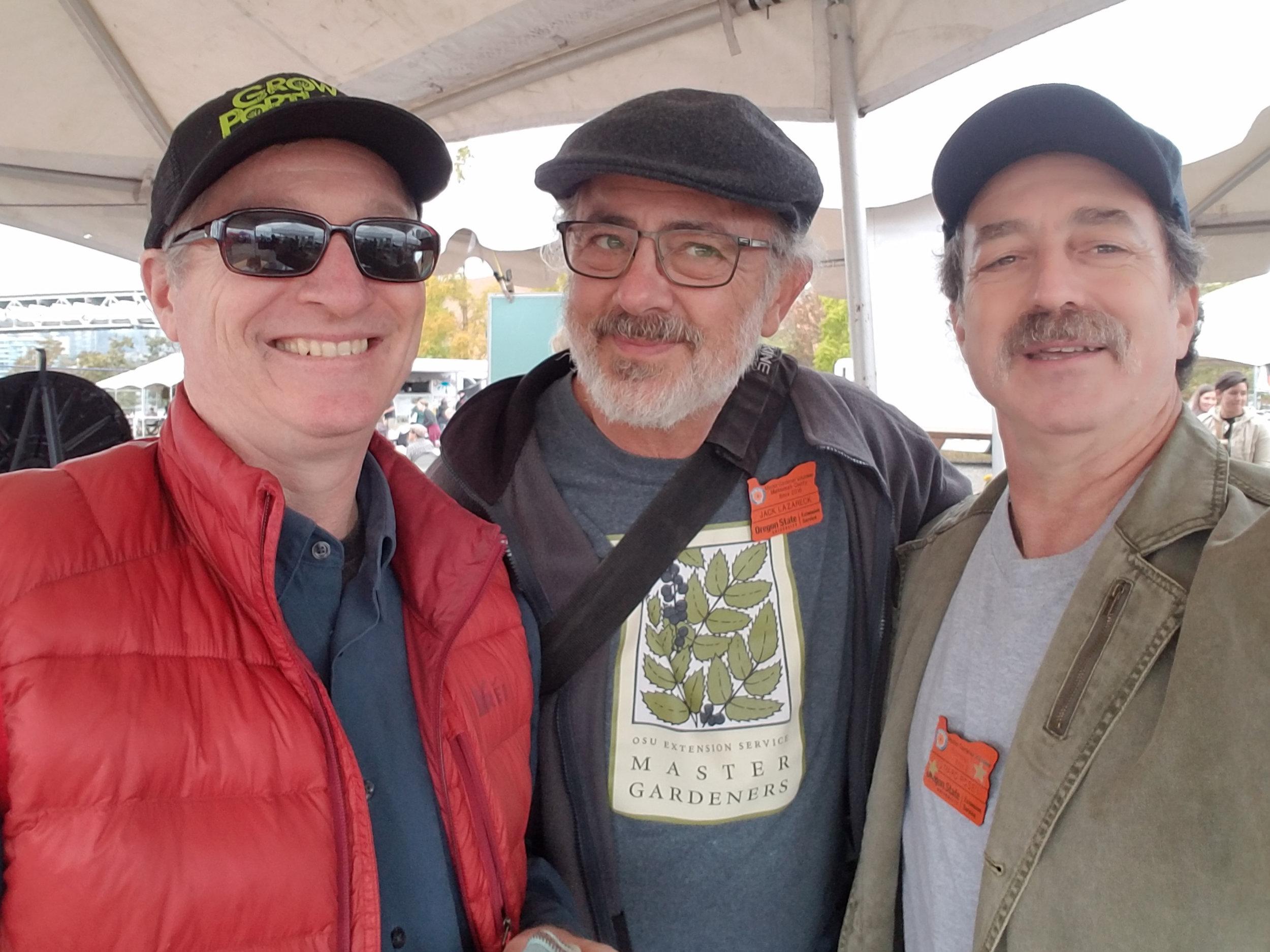 Weston Miller, Jack lazareck and Eddie rosen enjoying the day!