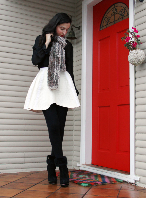 circle skirts and scarfs