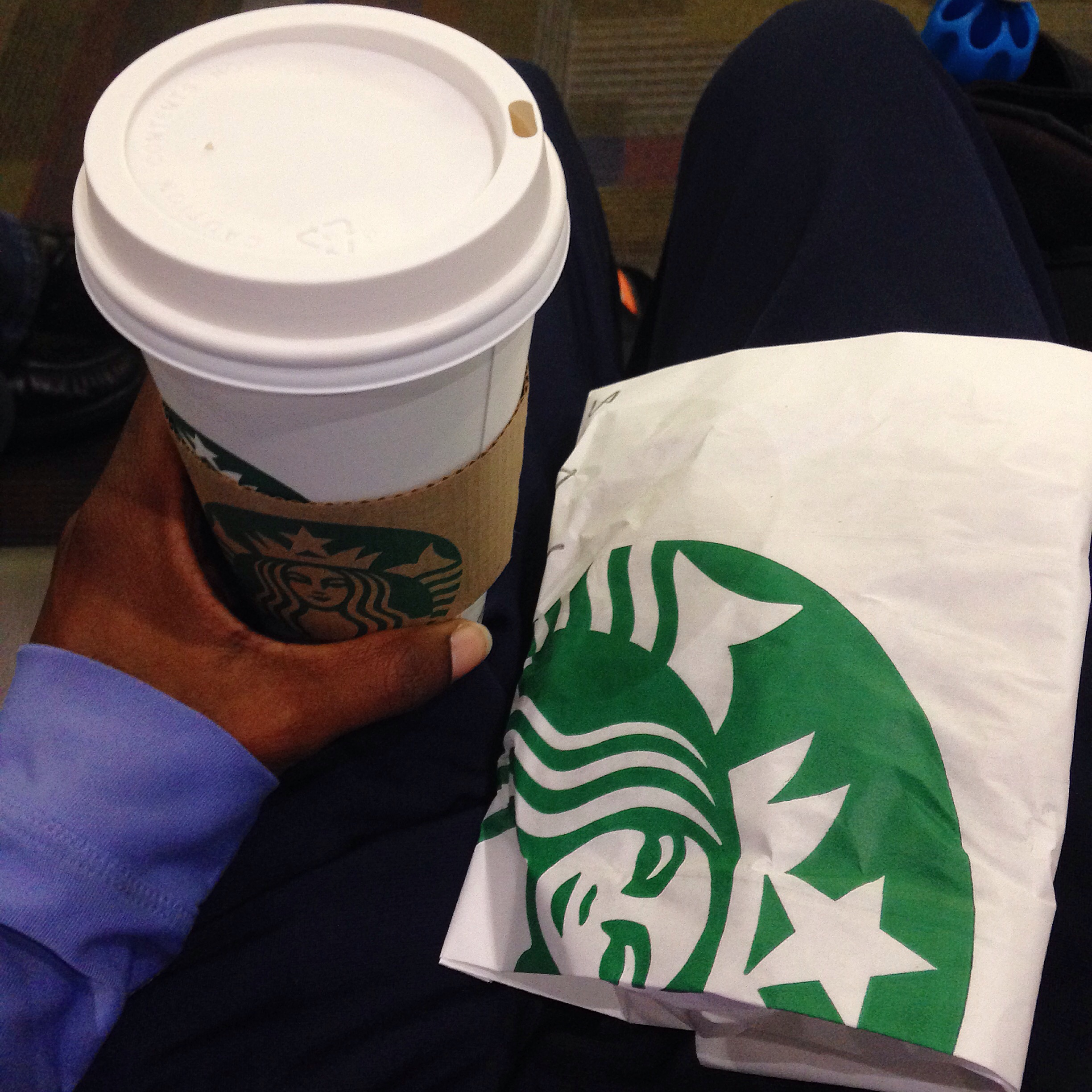 Finally get to enjoy Starbucks again! It has been way to long.