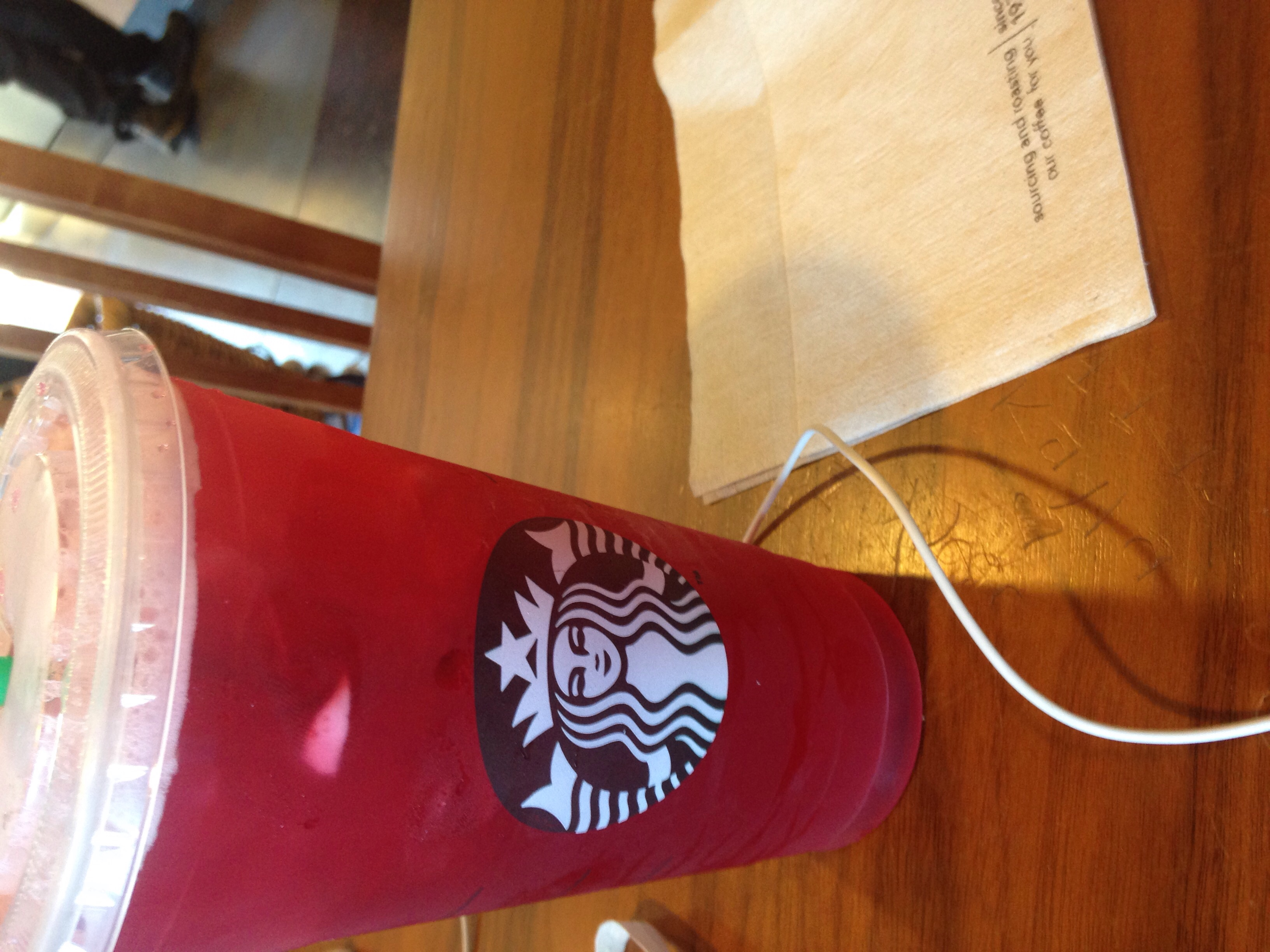 Fell back in love with Passion Tea Lemonade.