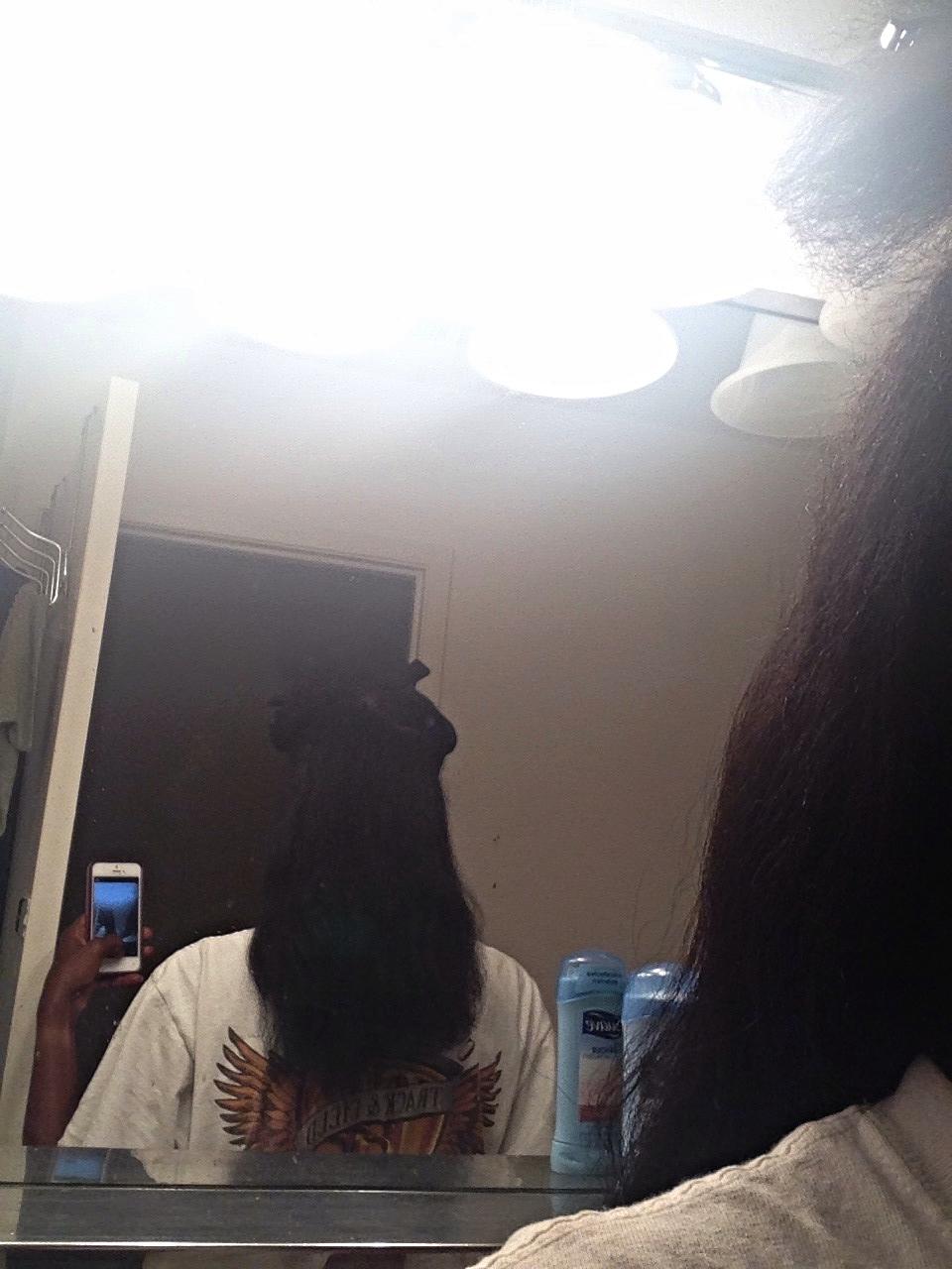Hair in May 2014