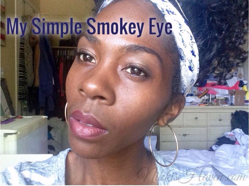 My Simple Smokey Eye