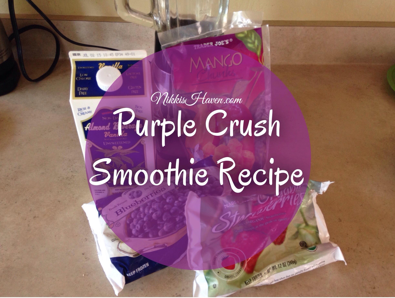 Purple Crush Summer Smoothie Recipe