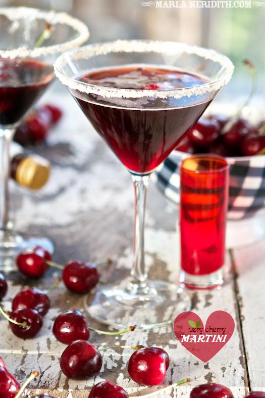 Very Cherry Martini | FamilyFreshCooking.com