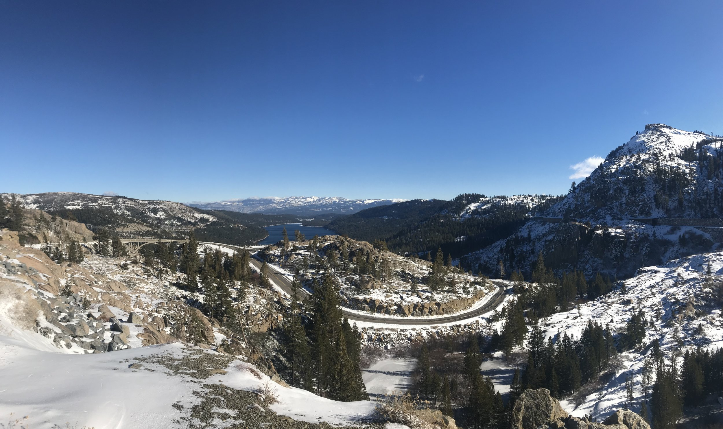 Donner Pass Soda Springs Scenic Route