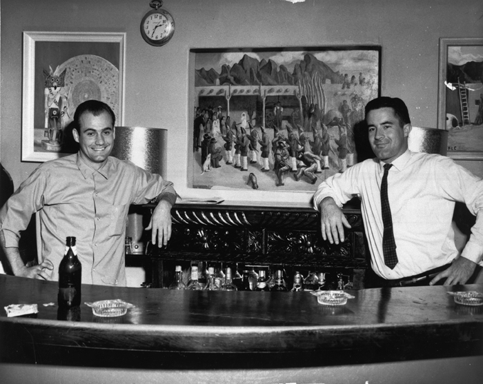 Bartenders in my Pinto Bar.