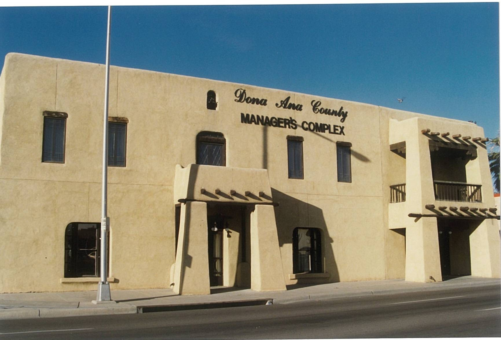 Doña Ana County Manager's Complex, 1990s