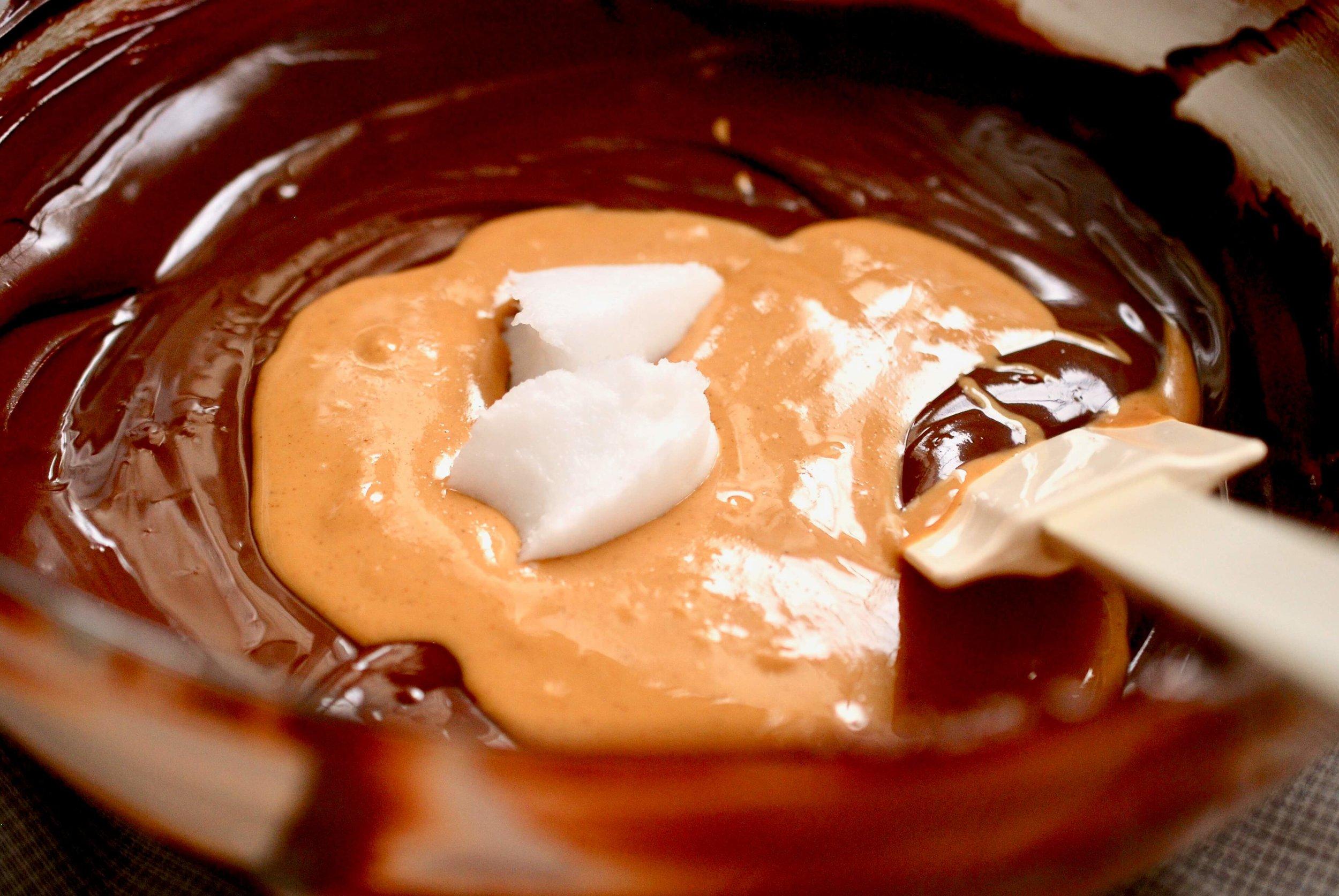 peanut cluster_melted chocolate.jpeg