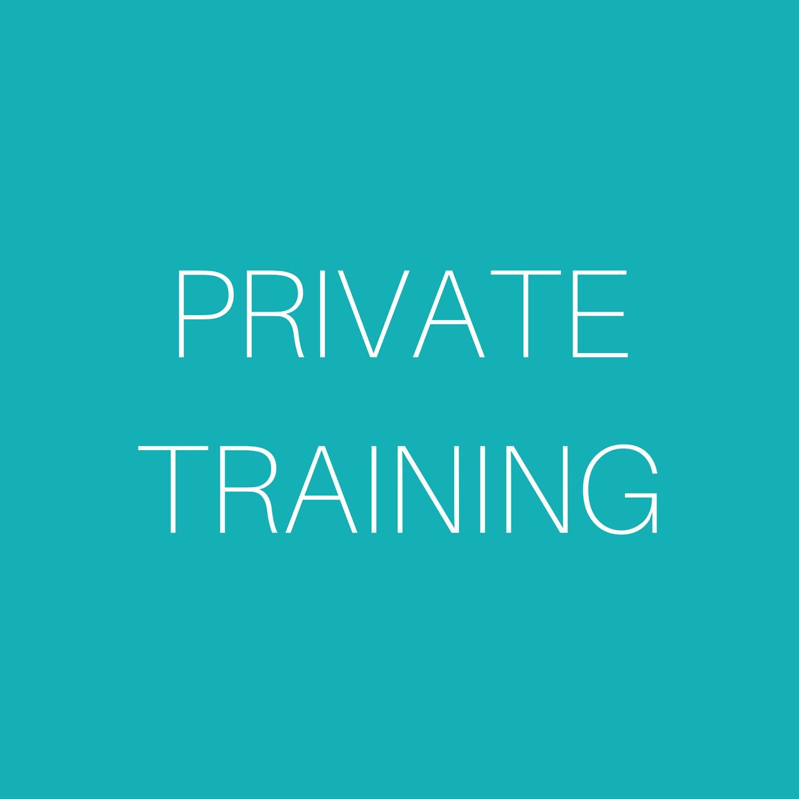 Core 3 Private Training