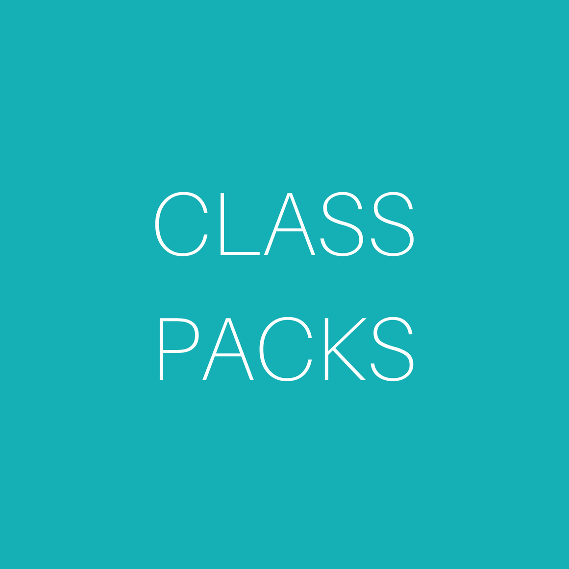 Core 3 Class Packs
