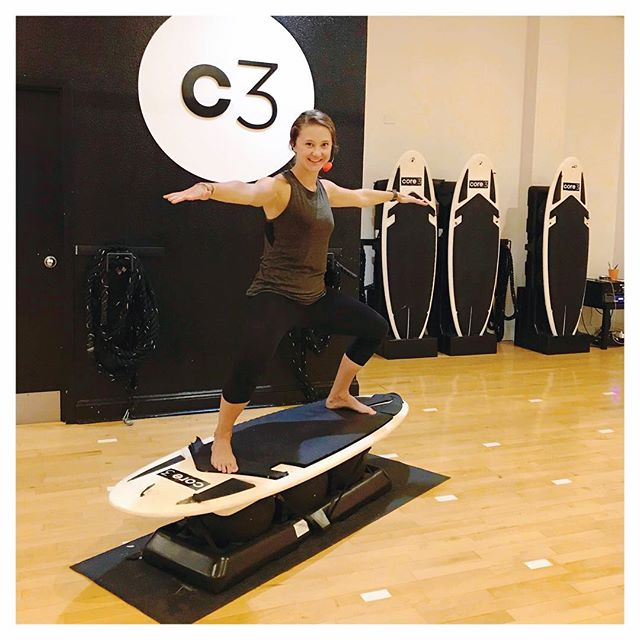 Meet our newest instructor @kmueller319! She is taking over the Tuesday 6:30pm Surf classes and is also certified in Buti Yoga and will be subbing this Tuesday night for @kayceeveilleux! Be sure to give her a big #surfvibetribe welcome!  #stlfitness #stlfit