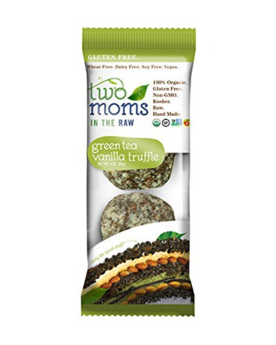 Two Moms in the Raw Organic Gluten-Free Raw Truffle, Green Tea Vanilla