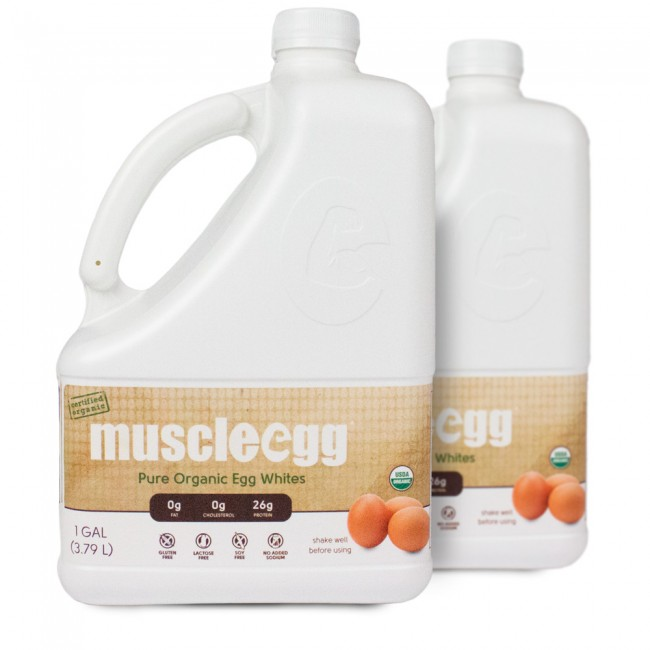 MuscleEgg — Organic Egg Whites (2 gallons)